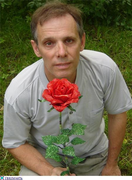 Шаг 18 - Большая роза из