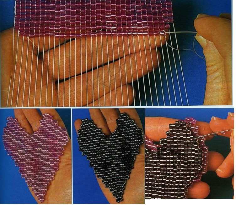 Плетение бисером-на-станке