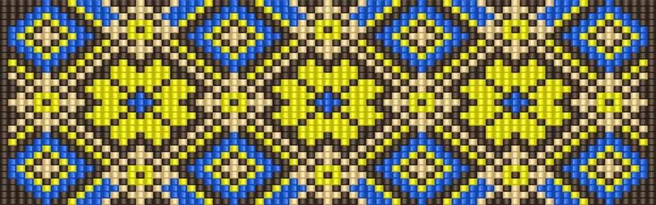 """Схемы """"Браслеты - мозаичное"""