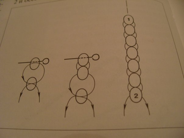Гитара из бисера: схема 2