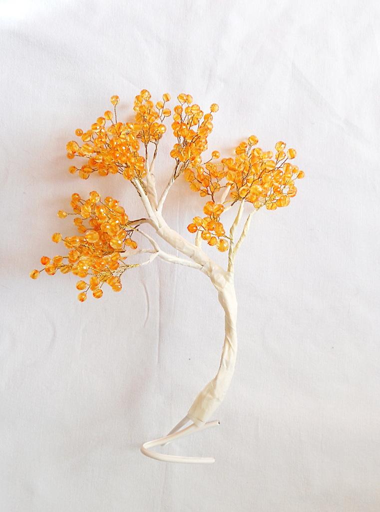 Янтарное дерево из бисера мастер класс с пошаговым